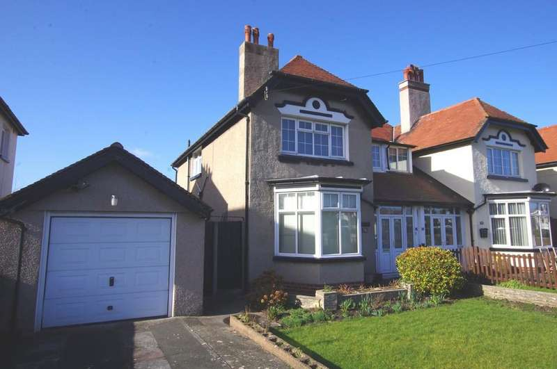 3 Bedrooms Semi Detached House for sale in Clarence Road, Craig Y Don