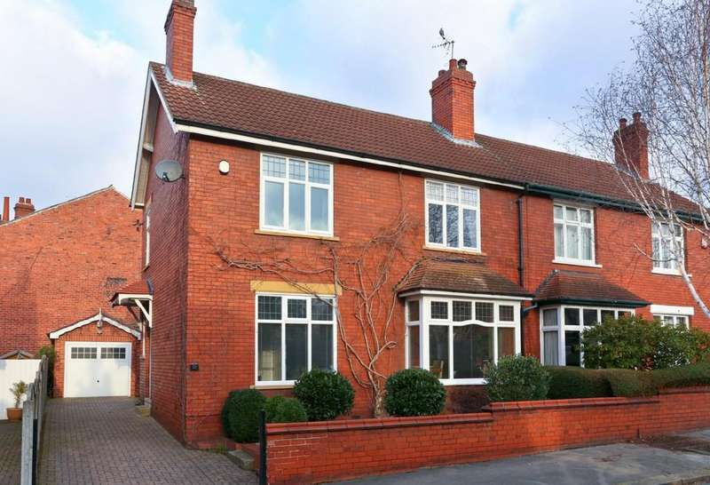 4 Bedrooms Semi Detached House for sale in Oxford Road, St Johns