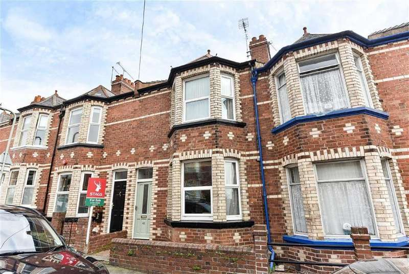3 Bedrooms Semi Detached House for sale in Ladysmith Road, Exeter, Devon, EX1