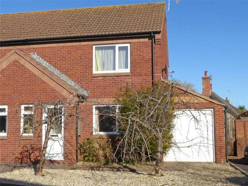2 Bedrooms Semi Detached House for sale in Townsend, Williton, Taunton, Somerset, TA4
