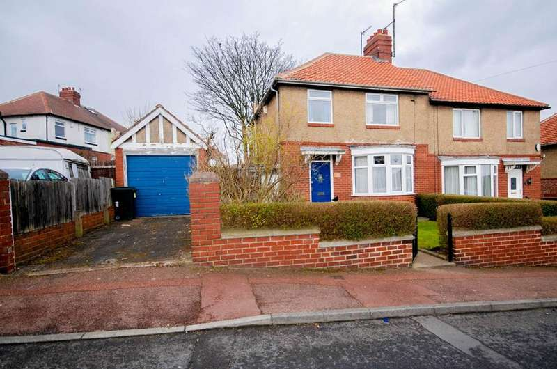 3 Bedrooms Semi Detached House for sale in Elmwood Gardens, Lobley Hill