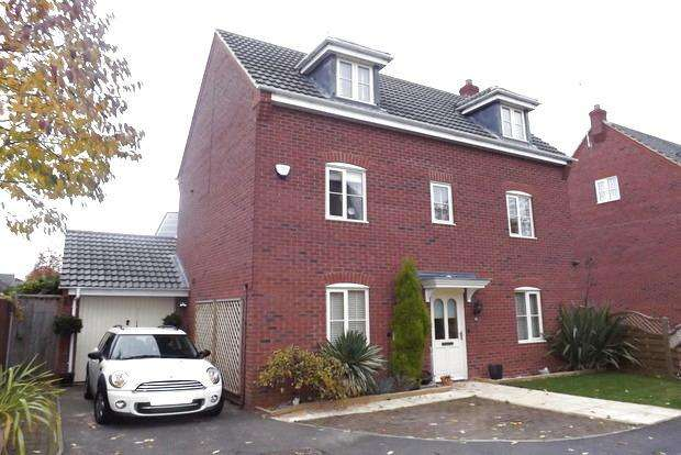 5 Bedrooms Detached House for sale in Burberry Avenue, Hucknall, Nottingham, NG15