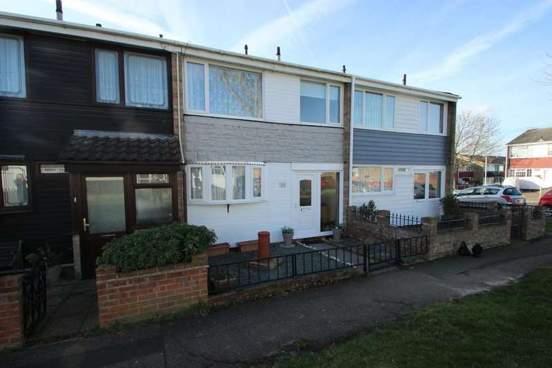 3 Bedrooms Terraced House for sale in Pitsea, SS13