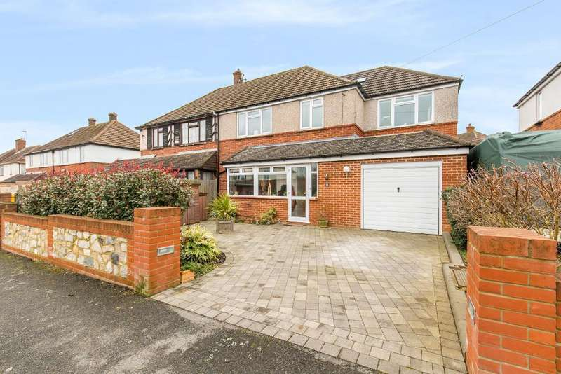 4 Bedrooms Semi Detached House for sale in Wentworth Way, Sanderstead, South Croydon, CR2 9EY