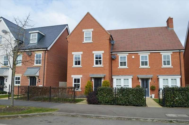 3 Bedrooms Semi Detached House for sale in Planets Way, Biggleswade, SG18