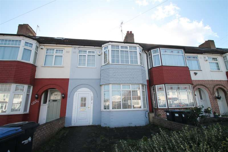 3 Bedrooms Terraced House for sale in New Park Avenue, Palmers Green, London N13