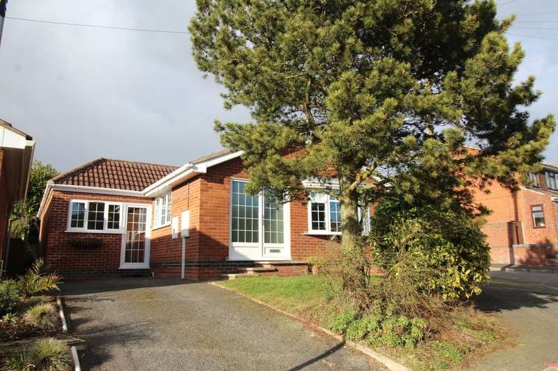 2 Bedrooms Detached Bungalow for sale in Stanley Road, Market Bosworth, Nuneaton, CV13