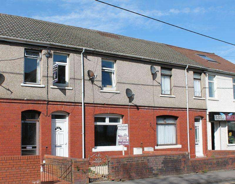 3 Bedrooms Terraced House for sale in Rose Terrace, LLANHARAN, CF72 9RH