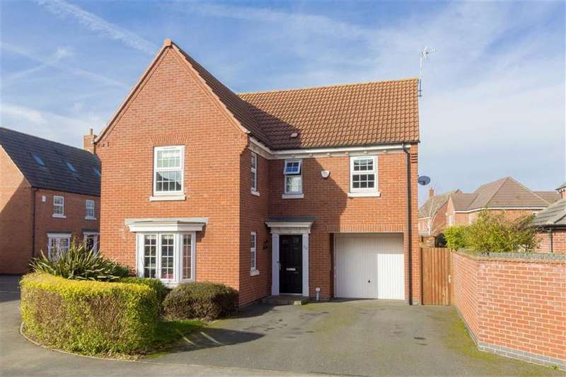 4 Bedrooms Detached House for sale in Flint Lane, Barrow Upon Soar, LE12