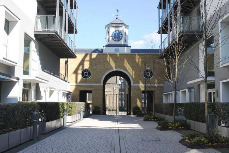 1 Bedroom Flat for sale in West Carriage House, Royal Arsenal Riverside SE18