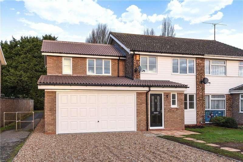 4 Bedrooms Semi Detached House for sale in Westbury Lane, Newport Pagnell, Buckinghamshire