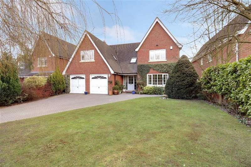 5 Bedrooms Detached House for sale in Kings Meadow, Hough, Crewe