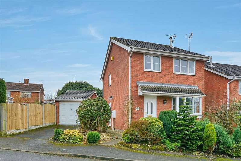 3 Bedrooms Detached House for sale in Pine Close, Rainworth