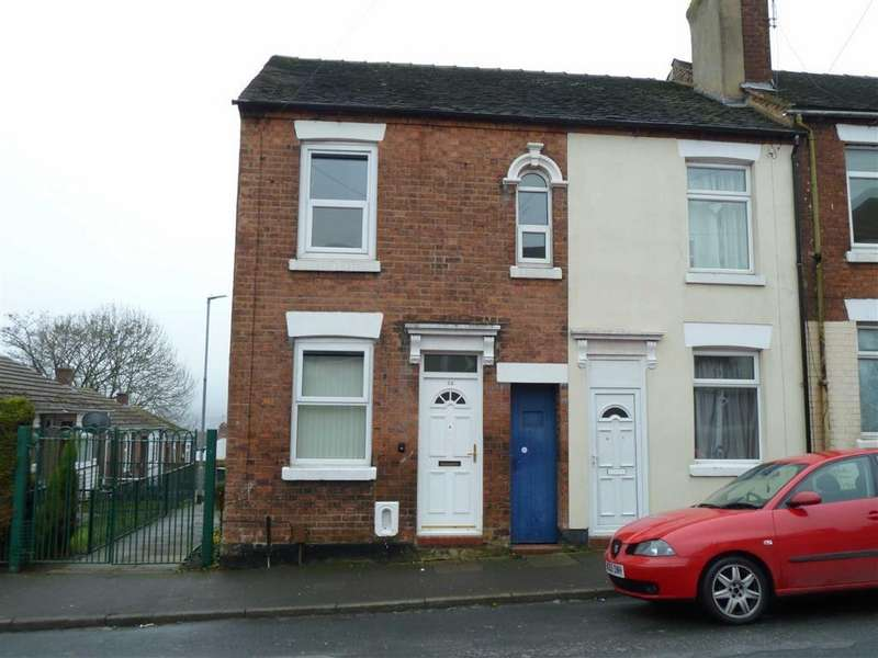 2 Bedrooms End Of Terrace House for sale in Birch Street, Hanley, Stoke-on-Trent