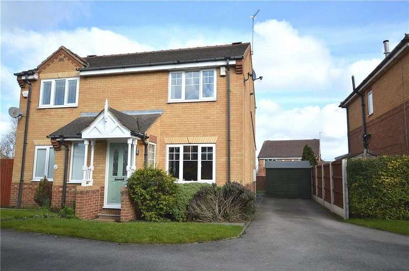 2 Bedrooms Semi Detached House for sale in Bittern Rise, Morley, Leeds