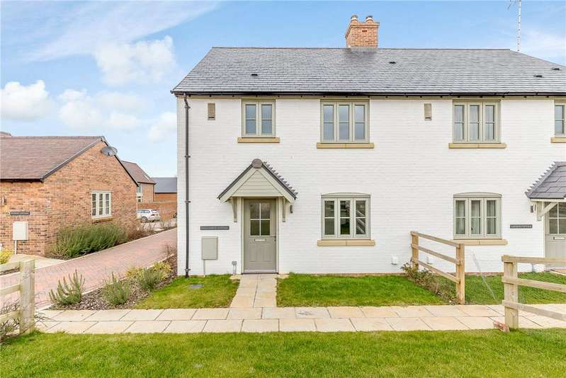 2 Bedrooms Semi Detached House for sale in West Overton, Marlborough, Wiltshire, SN8
