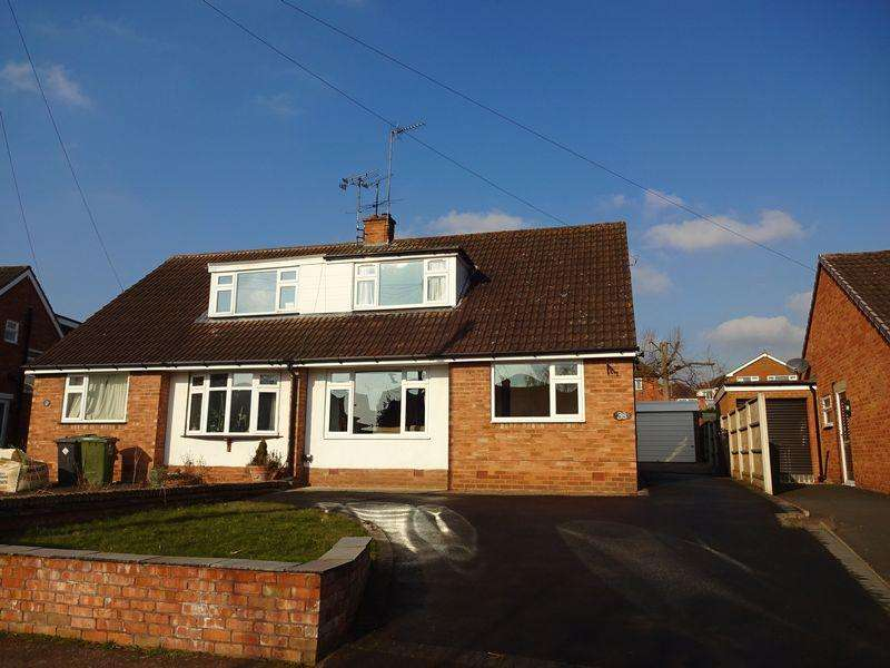 3 Bedrooms Semi Detached House for sale in Beechcote Avenue, Wolverley DY11 5TS