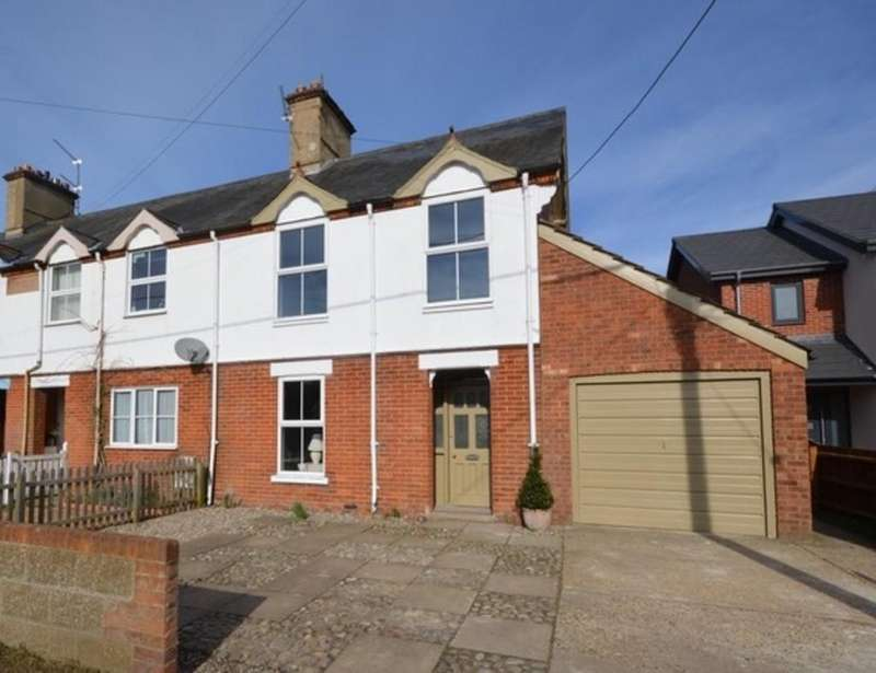 3 Bedrooms End Of Terrace House for sale in Hempstead Road, Holt, Norfolk