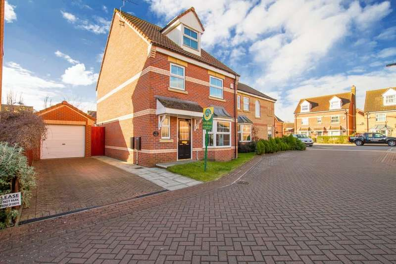 4 Bedrooms Detached House for sale in Comet Court , Auckley, Doncaster
