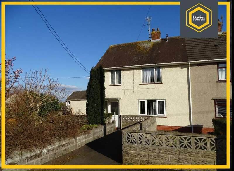 3 Bedrooms Semi Detached House for sale in Parc Richard, Llanelli, SA14