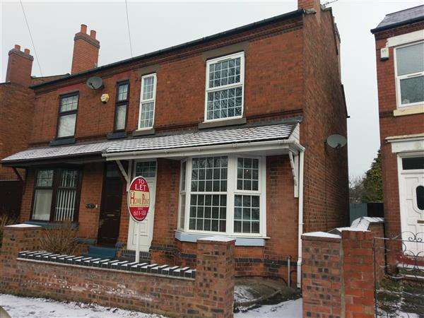 3 Bedrooms Semi Detached House for rent in Butts Road, Walsall