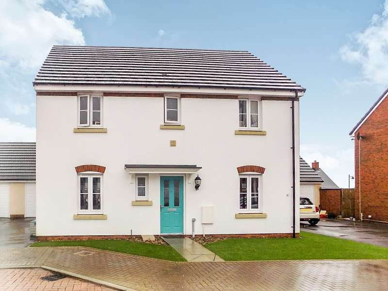 4 Bedrooms Detached House for sale in Maes Yr Ysgall , Coity, Bridgend. CF35 6FF