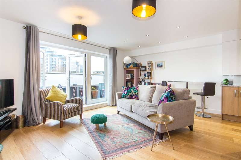 1 Bedroom Flat for sale in Cubitt Apartments, 36 Chatfield Road, London, SW11
