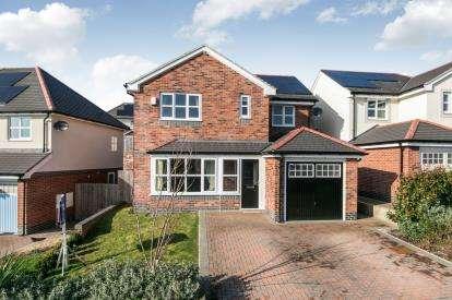 4 Bedrooms Detached House for sale in Lon Gwaenfynydd, Llandudno Junction, Conwy, North Wales, LL31