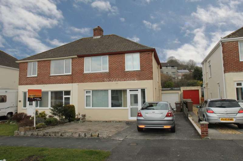 3 Bedrooms Semi Detached House for sale in Crossway, Plympton, Plymouth