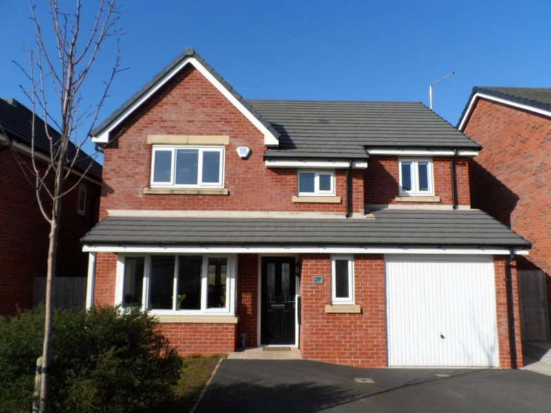 4 Bedrooms Detached House for sale in Benedict Drive, Blackpool, FY3 0AF