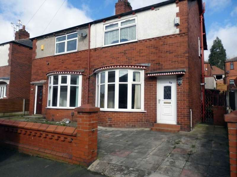 2 Bedrooms Semi Detached House for sale in Orwell Road, Bolton