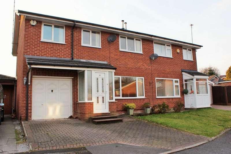 4 Bedrooms Semi Detached House for sale in Slimbridge Close, Breightmet