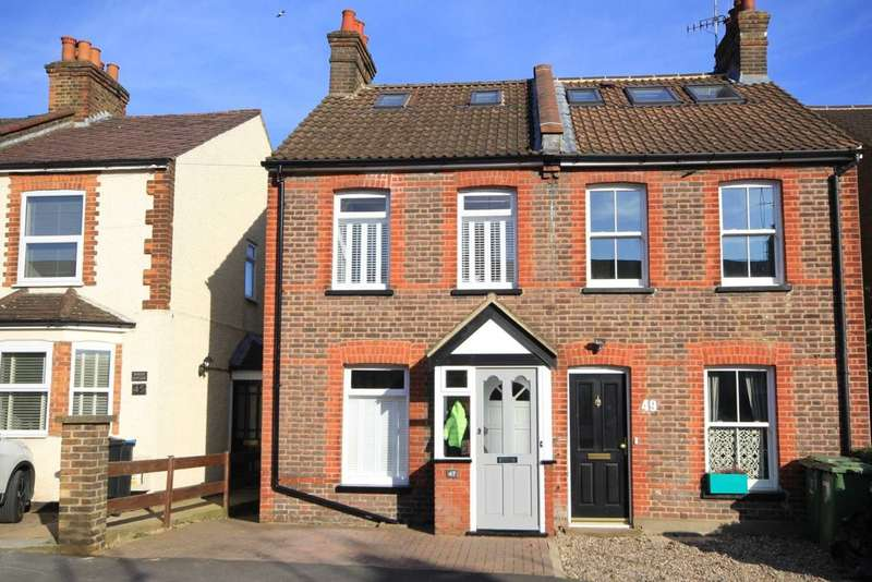 3 Bedrooms House for sale in REFURBISHED CHARACTER COTTAGE WITH PARKING in Alexandra Road, KINGS LANGLEY