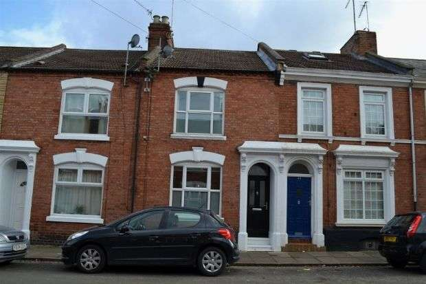 2 Bedrooms Terraced House for sale in Hunter Street, The Mounts, Northampton NN1 3QB