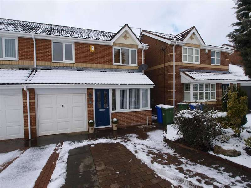 3 Bedrooms Semi Detached House for sale in Delamere Crescent, Cramlington