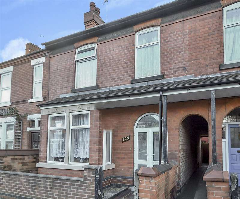 3 Bedrooms Terraced House for sale in Breedon Street, Long Eaton