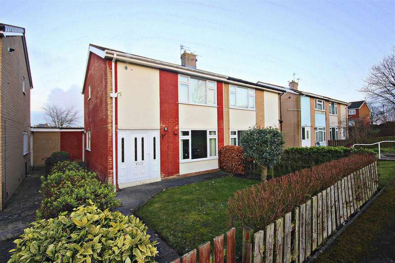 2 Bedrooms Semi Detached House for sale in Dent Close, Haswell, Durham