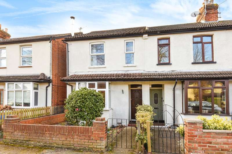 3 Bedrooms End Of Terrace House for sale in Horsell