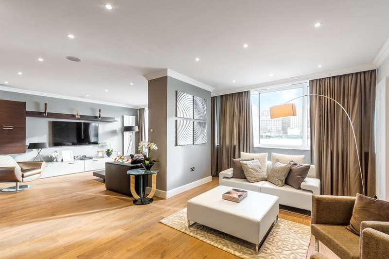 2 Bedrooms Flat for sale in Grosvenor Road, Pimlico, SW1V