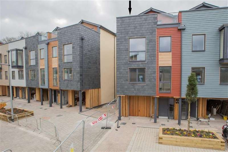 4 Bedrooms Semi Detached House for sale in Baltic Wharf, St Peter's Quay, Totnes, Devon, TQ9