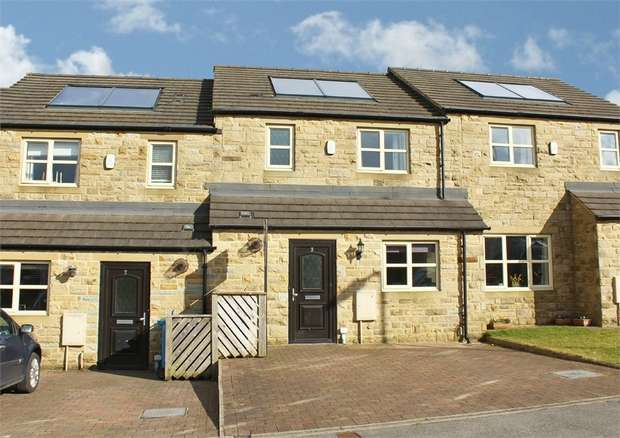 3 Bedrooms Terraced House for sale in Carr Meadows, Cowling, Keighley, North Yorkshire