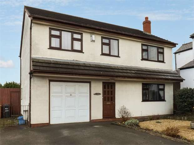 4 Bedrooms Detached House for sale in Mold Road, Ewloe, Deeside, Flintshire