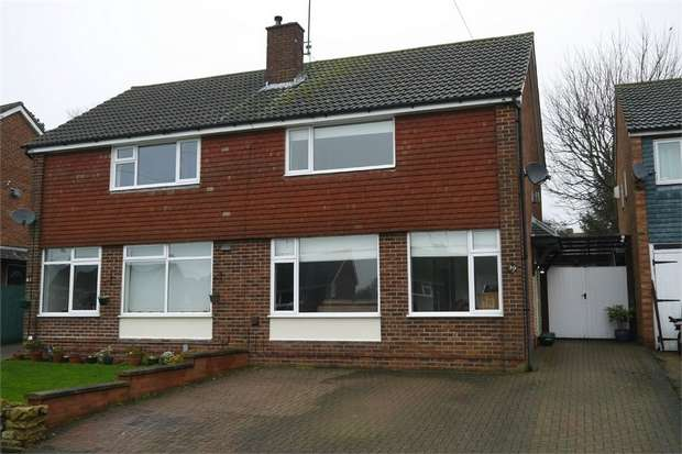 3 Bedrooms Semi Detached House for sale in Arden Way, Market Harborough, Leicestershire
