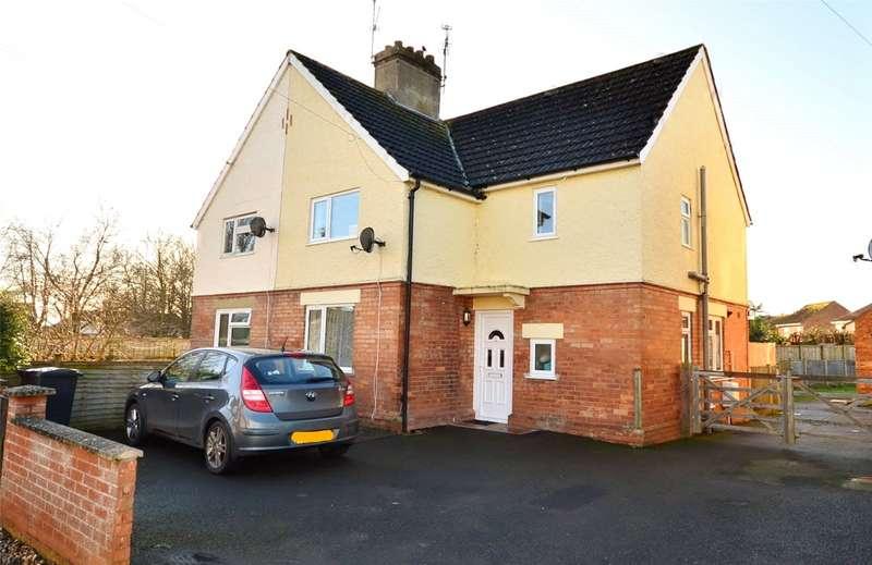 3 Bedrooms Semi Detached House for sale in Garden City, Langport, Somerset, TA10