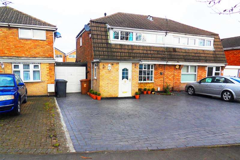 3 Bedrooms Semi Detached House for sale in Lynwood Road, Sinfin