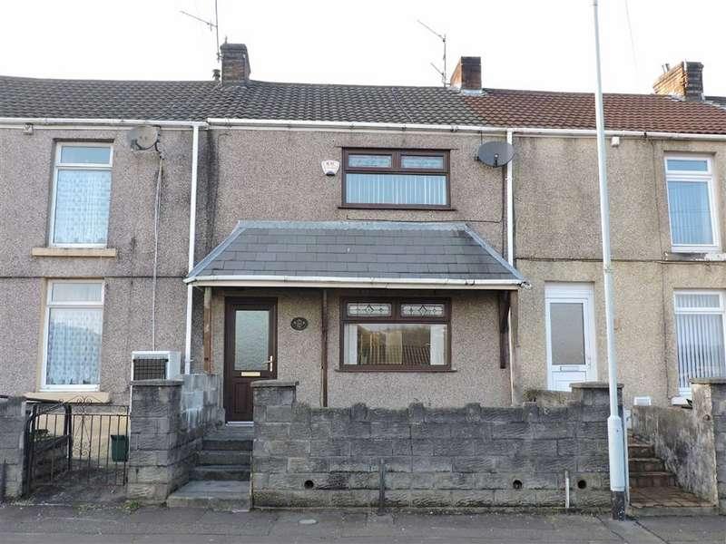 3 Bedrooms Terraced House for sale in Dinas Street, Plasmarl