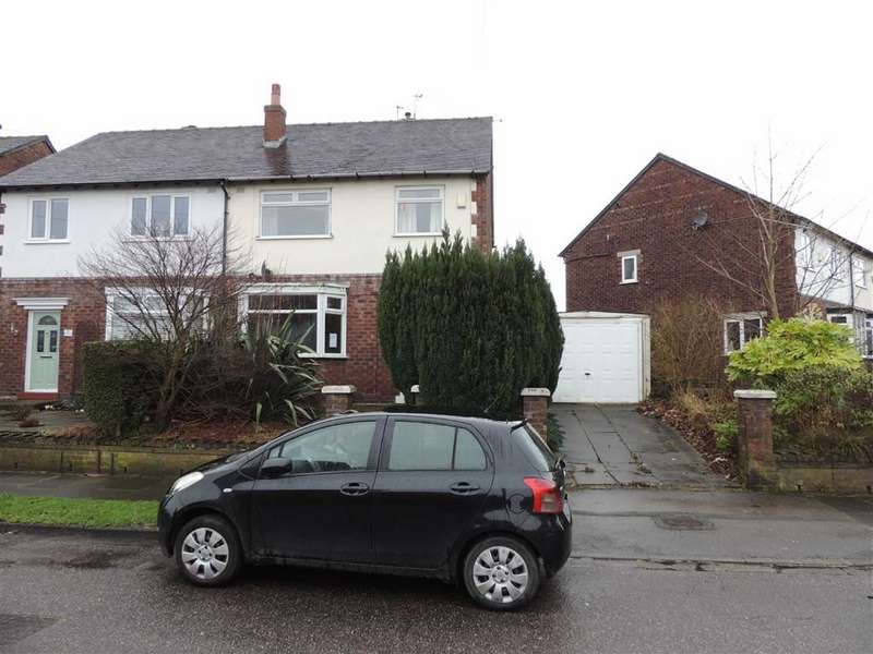 3 Bedrooms Semi Detached House for sale in Lindbury Avenue, Offerton, Stockport