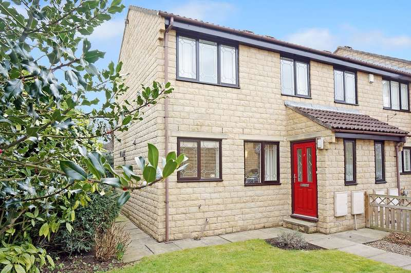 2 Bedrooms End Of Terrace House for sale in Green Lea Close, Boston Spa, Wetherby,LS23 6SU