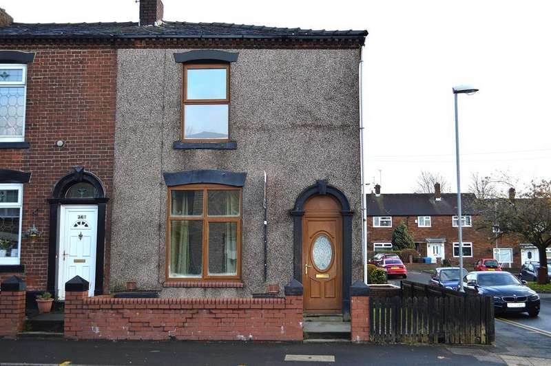 3 Bedrooms End Of Terrace House for sale in Ashton Road, Bardsley, OL8 2RG