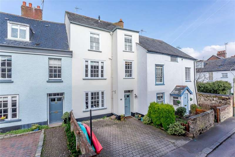4 Bedrooms Terraced House for sale in Higher Shapter Street, Topsham, Exeter, Devon